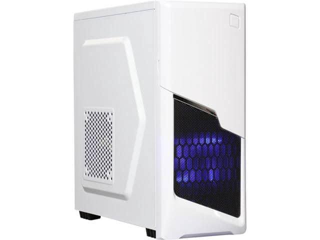 DIYPC P48-W micro ATX Tower Case $25