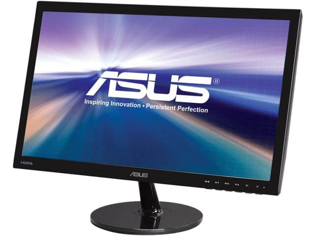 "ASUS VS228H-P 22"" Widescreen FHD Monitor $80AR"