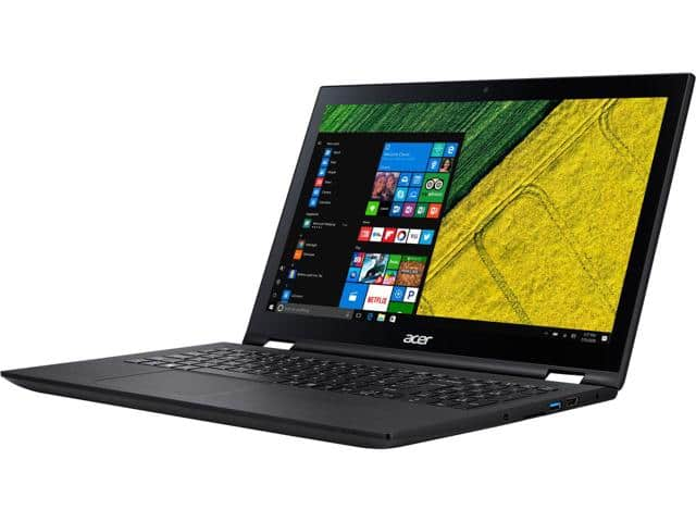 Acer Spin 3 SP315-51-36J1 Intel Core i3-6100U FHD 4GB RAM 500GB HDD $380AC