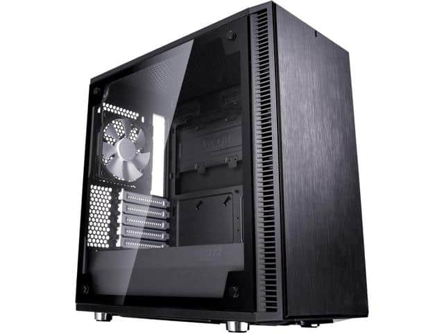 Fractal Design Define Mini C TG Silent MATX Mini Tower Computer Case $70 AR