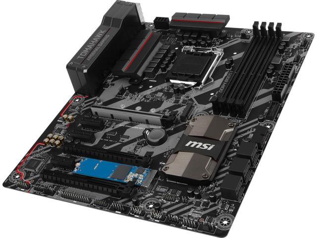 MSI Z270 Tomahawk OPT Boost LGA 1151 Intel Z270 ATX Motherboard $100AR
