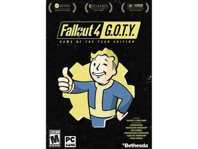 Fallout 4: Game of the Year Edition $36AC; Injustice 2 PS4  $30AC Ride 2 $18AC;  Final Fantasy XV $24AC; Prey 18AC;