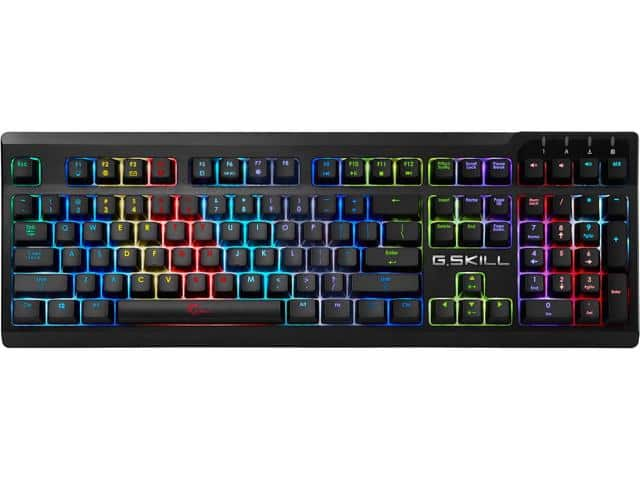 G.Skill Ripjaws KM570 Mechanical Keyboard (Cherry MX RGB Red) $85
