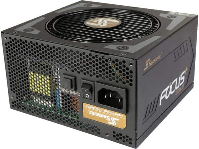 750W Seasonic Focus Plus Series 80+ Gold Compact Modular Power Supply $70AR; 550W/$60AR
