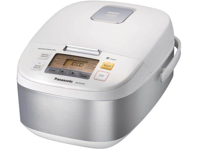 Panasonic SR-ZG105 1.0 L / 5 Cups Fuzzy Logic Electric Rice Cooker $100AC