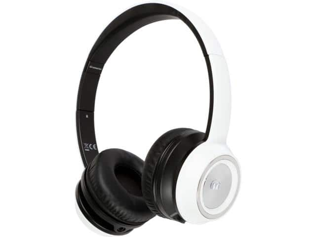 Monster N-Tune NTune On-Ear Headphones (white) $17AC