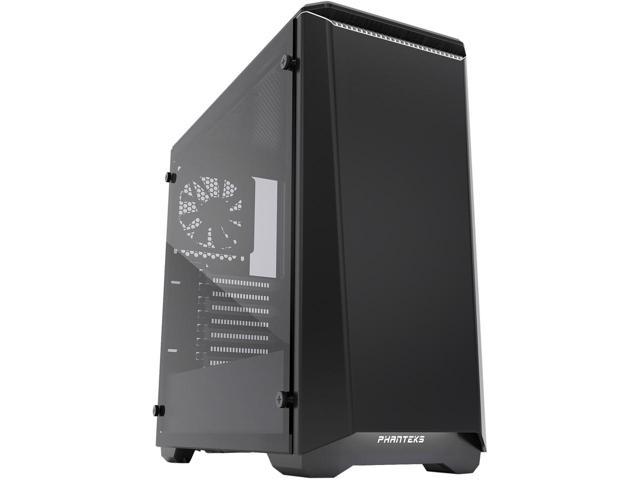 Phanteks Eclipse P400S PH-EC416PSTG_BW Silent Edition Black/White Tempered Glass Mid Tower Case $70AR