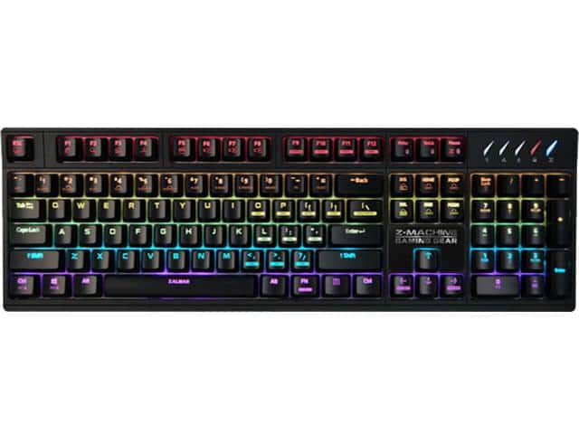 Zalman ZM-K900M Gaming Mechanical Keyboard, RGB $43@NF