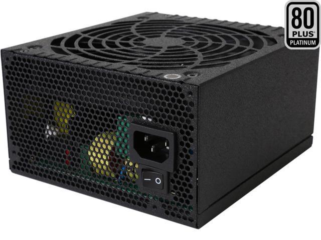 650 Watt Rosewill Quark-650 80Plus Platinum Certified Full Modular Power Supply $55AR