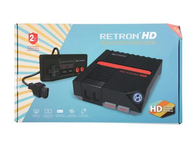 Hyperkin RetroN 1 HD Gaming Console for NES - Black $20AC