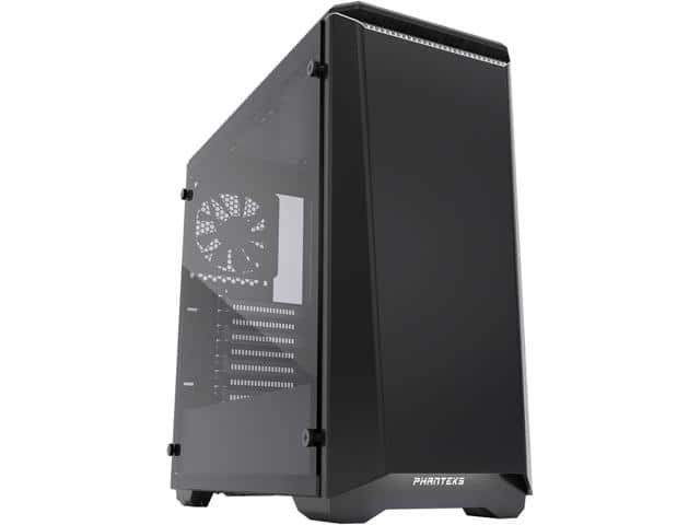Phanteks Eclipse P400 PH-EC416PTG_BW Black/White Tempered Glass/Steel ATX Mid Tower Case $55AR