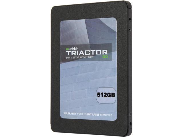 "512GB Mushkin Enhanced TRIACTOR 3DL 2.5"" 3D TLC SSD $133AC"