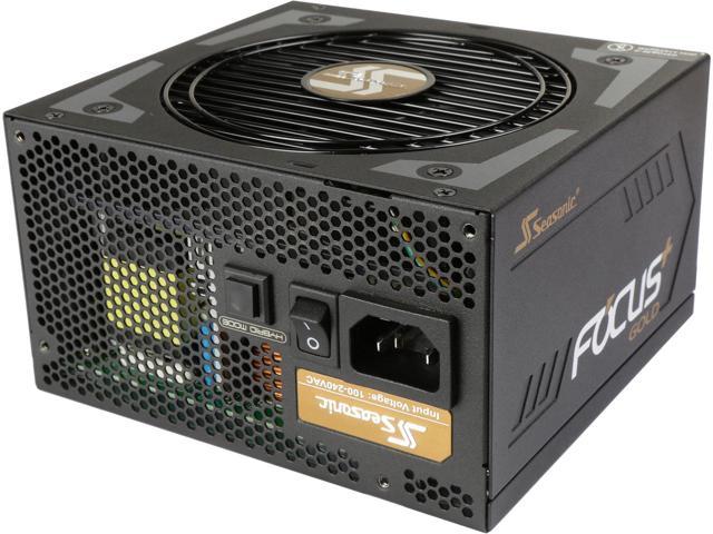 750W Seasonic Focus Plus Series 80+ Gold Power Supply SSR-750FX $80AR; 550W $60AR