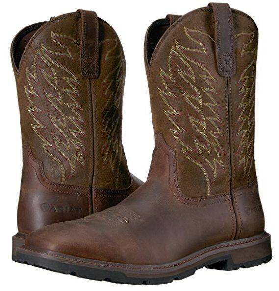 Men\u0027s Ariat Wide Square Toe Work Boot (various sizes
