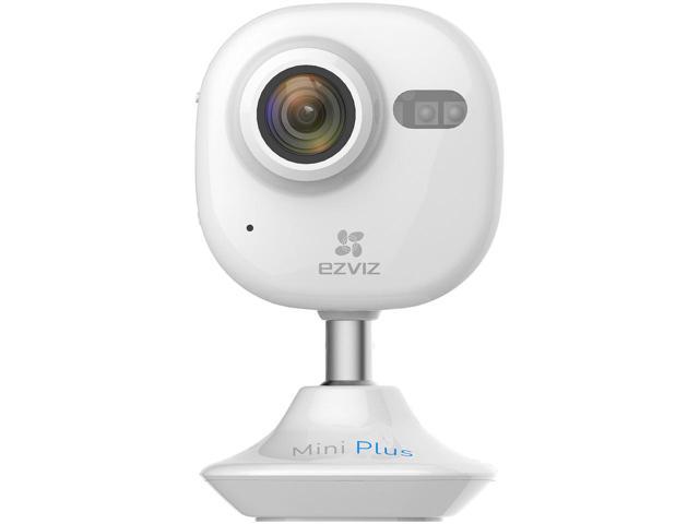 EZVIZ Mini Plus HD 1080p Wi-Fi Home Security Camera with 16GB MicroSD Card $40