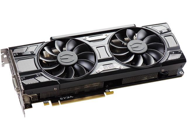 EVGA GeForce GTX 1070 Ti SC GAMING 8GB ACX 3.0 Black Edition Video Card , 08G-P4-5671-KR $450AR