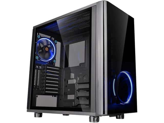Thermaltake View 31 Dual Tempered Glass Edition Mid Tower Case $65AR
