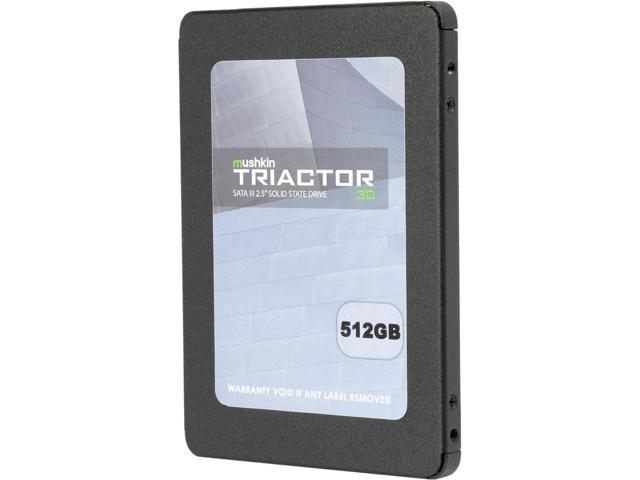 """512GB Mushkin Enhanced TRIACTOR 3D 2.5"""" 3D TLC SSD $135AC"""