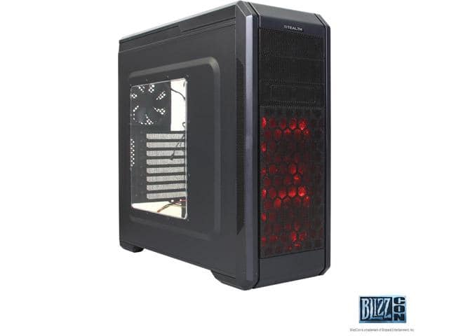 Rosewill Stealth - ATX Mid Tower Gaming Computer Case w/top HDD dock $30AR@Newegg
