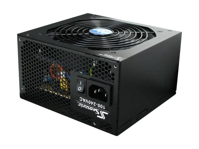 520W Seasonic S12II 520 80+ Bronze Power Supply $23AR 11/17 only