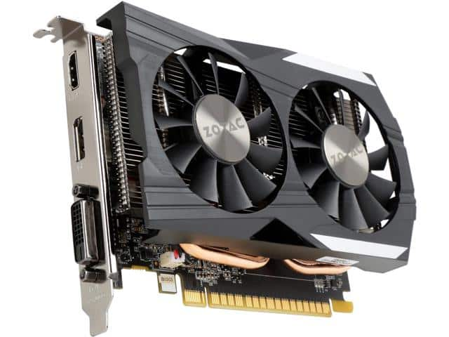ZOTAC GeForce GTX 1050 Ti ZT-P10510B-10L Video Card $135AC