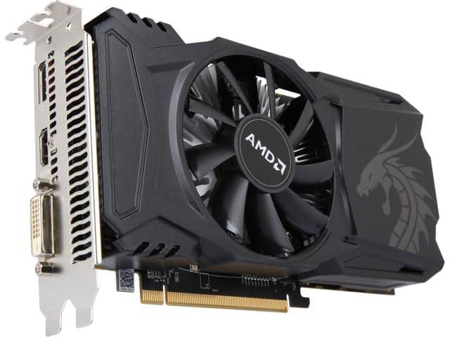 PowerColor RED DRAGON Radeon RX 560 4GB Video Card  $75AR