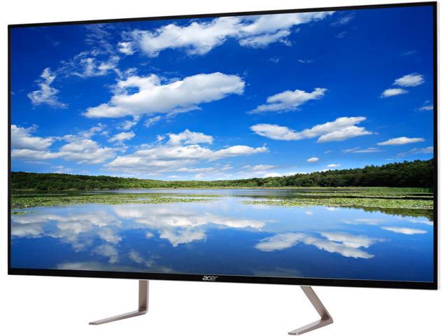 """43"""" Acer ET0 Series ET430K UHD 4K IPS LED Monitor White $400AC"""