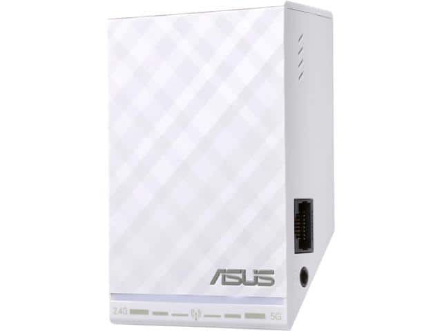 ASUS RP-N54 Dual-Band (2.4 GHz, 5 GHz) Wireless N600 Repeater / Access Point / Media Bridge $15AR