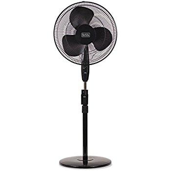 Lasko 2521 Oscillating Stand Fan, 16-Inch, Black $16AC (Prime) @Amazon