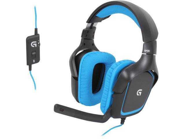 Logitech G430 Over-the-Ear Gaming Headset $35