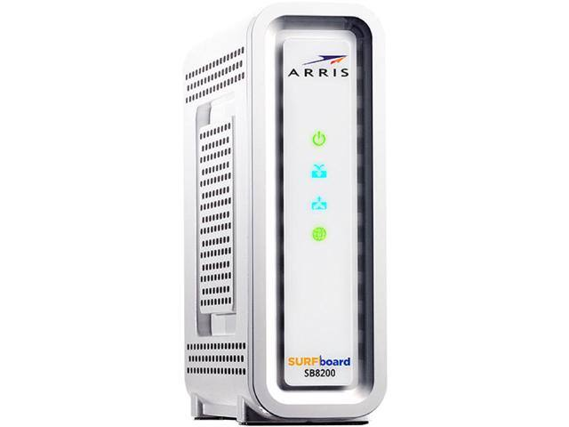 Arris SB8200 SURFboard Docsis 3.1 Cable Modem $165 w/MPCO @Newegg