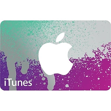 $50 iTunes Gift Card $42.50 @Staples