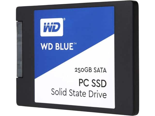 "250GB WD Blue 2.5"" SSD $70 AC @Newegg"