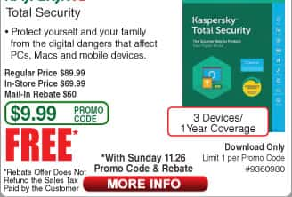 Kaspersky Internet Security 3 Devices 2018 - Download 3-dev