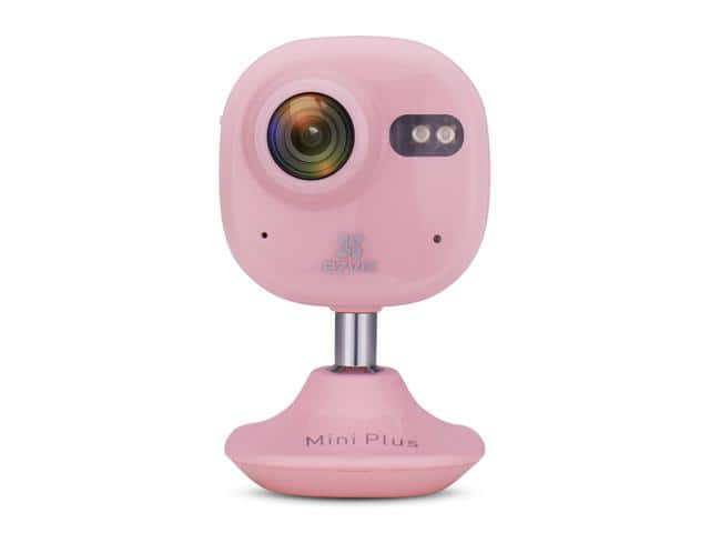 EZVIZ Mini Plus Wide Angle HD 1080p Wi-Fi Indoor Home Video Monitoring Security Camera, Pink $40@Newegg