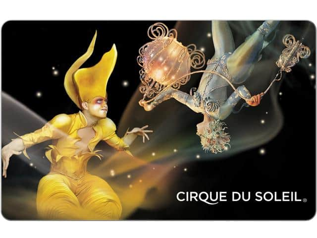 Cirque du Soleil $100 Gift Card (Email Delivery) $85@Newegg