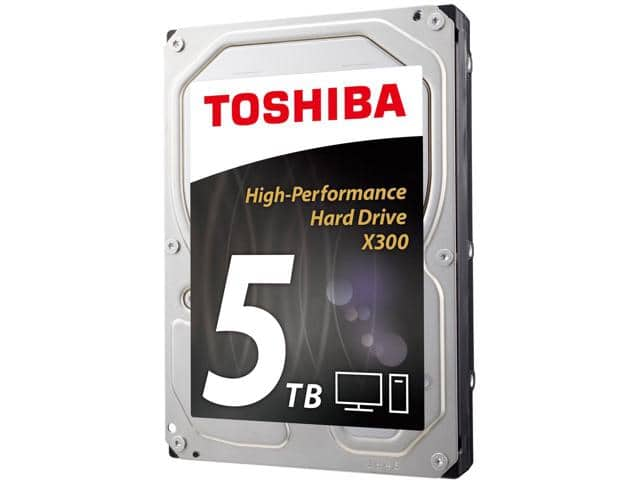 5TB TOSHIBA X300 7200 RPM Desktop Hard Drive $120AC@Newegg