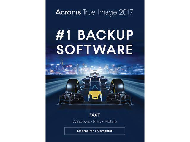 Acronis True Image 2017 - 1 Device (DVD Case) (+AC Syndicate - PC) free after $35 Rebate