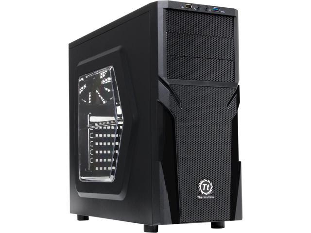 Thermaltake Versa H21 CA-1B2-00M1WN-00 Mid Tower Case $20AR @Newegg