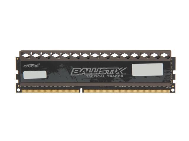 4GB Crucial Ballistix Tactical DDR3 1600 RAM w/ Red/Green LED $30AC