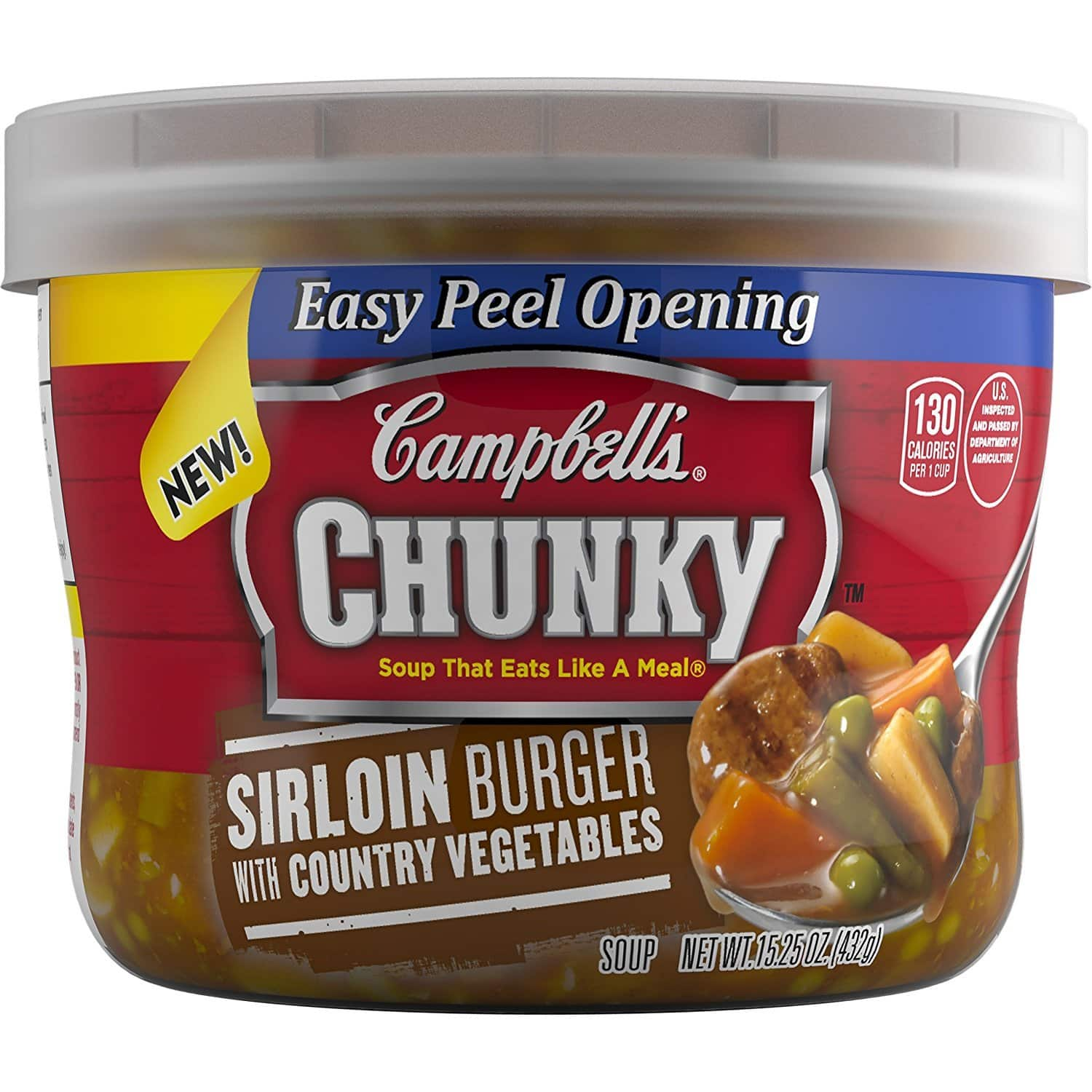 8-Pack of 15.25oz Campbell's Chunky Soup (Clam Chowder) $8.40 w/ S&S