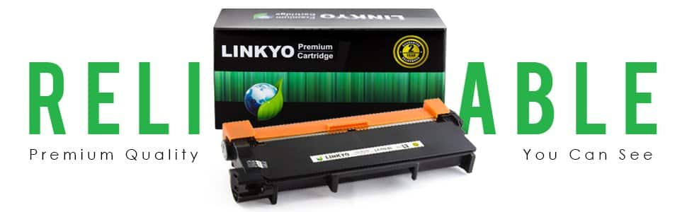 LINKYO Replacement Toner Cartridges for Brother TN660 TN-660 TN630 $9AC w/S&S