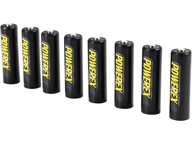 Powerex LSD AA 2600 mAh Batteries 8-pk $15