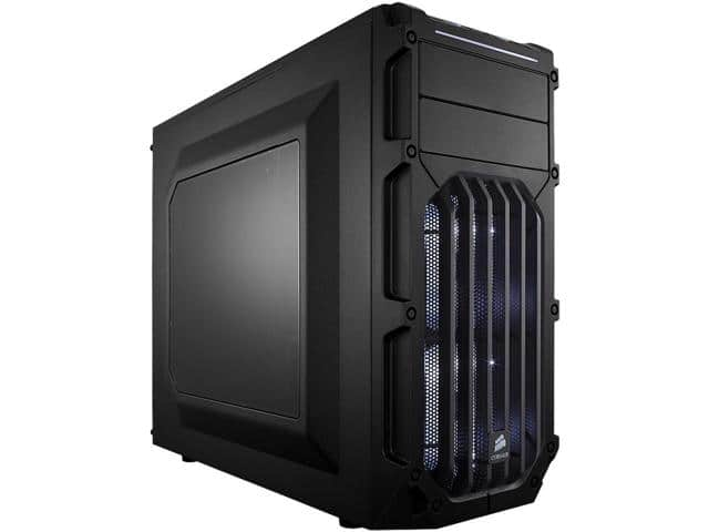 Corsair Carbide Series SPEC-03 Black Steel ATX Mid Tower Gaming Case w/White Fans $30AR