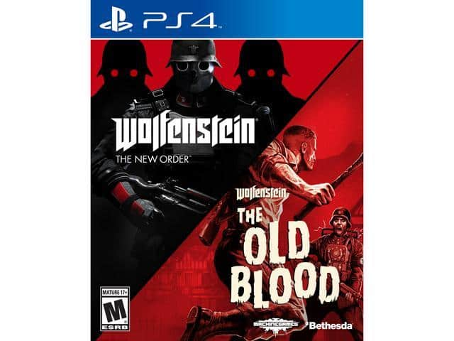 Wolfenstein The Two-Pack Bundle - PlayStation 4 $18AC
