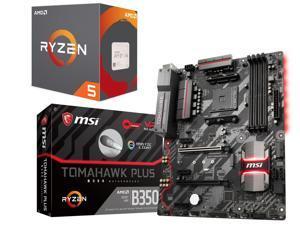 AMD RYZEN 5 1600X 6-Core CPU + MSI B350 Tomahawk Plus AM4 Motherboard $280AR