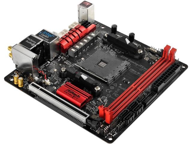 ASRock Fatal1ty X370 Gaming-ITX/ac AM4 Promontary Motherboard $118AR