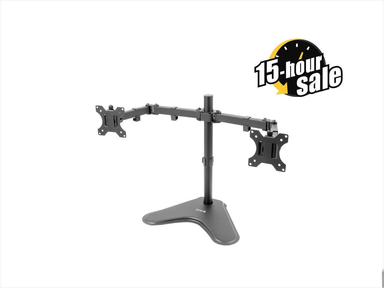 VIVO Dual Monitor Mount Free-Standing $30@NF