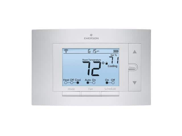Emerson Sensi Wi-Fi Smart Programmable Thermostat + $20 Newegg eGift Card $97