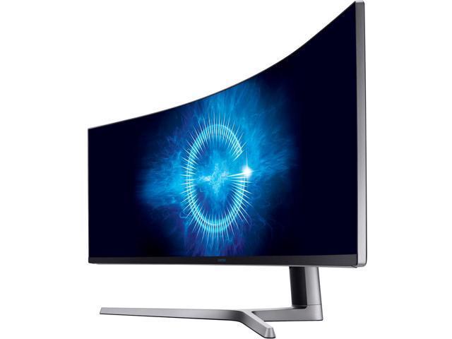 "Samsung C49HG90 49"" 3840x1080p Curved Quantam Dot Freesync 144Hz Monitor $950AC"
